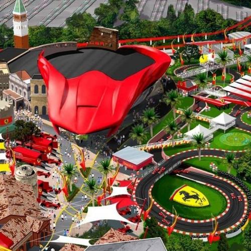 Novo Parque da Ferrari, agora na Europa