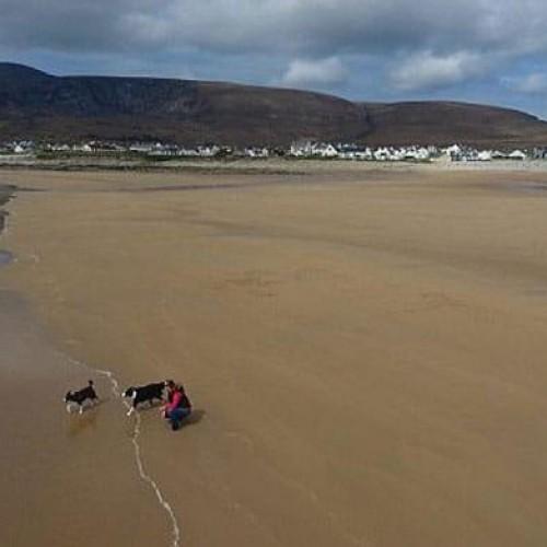 Praia ressurge depois de 30 anos desaparecida